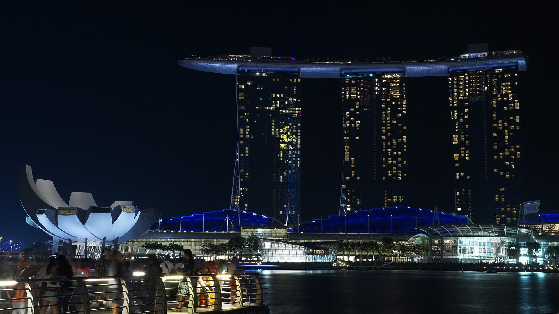 سنغافورة مدينة الأسد