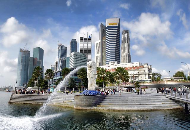 سنغافورة مدينة الاسد