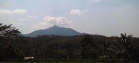جبل بونشاك في اندونيسيا