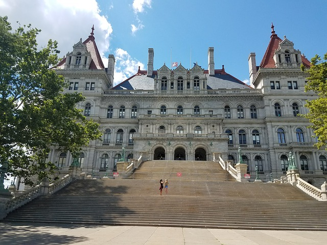 مدينة ألباني Albany عاصمة ولاية نيويورك بالولايات المتحدة الأمريكية