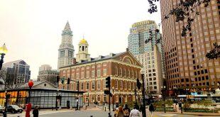 مدن ولاية ماساتشوستس الأمريكية