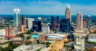 مدينة شارلوت Charlotte في ولاية نورث كارولينا الأمريكية