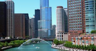 شيكاغو - Chicago ثالث أكبر مدينة في الولايات المتحدة الأمريكية