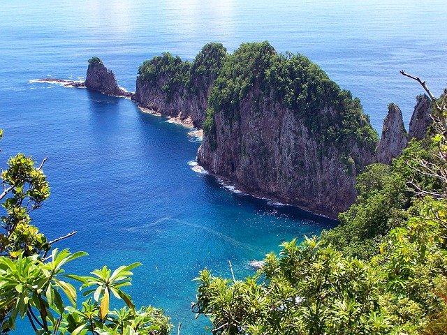 جزر ساموا الأمريكية American Samoa - وعاصمتها باغو باغو