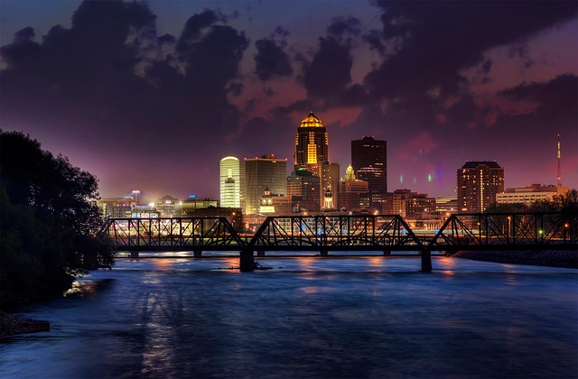 مدن ولاية آيوا بالولايات المتحدة الأمريكية
