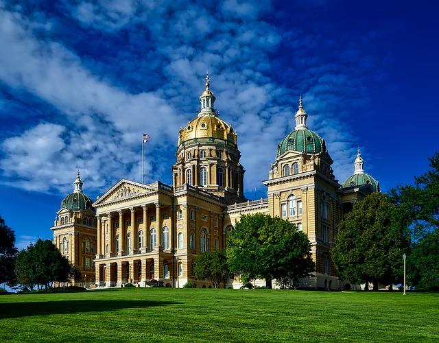 ولاية آيوا Iowa بالولايات المتحدة الأمريكية