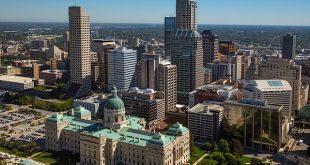 مدن ولاية إنديانا بالولايات المتحدة الأمريكية