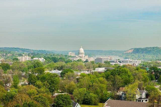 أبرز مدن ولاية أركنساس الأمريكية