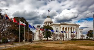 ولاية ألاباما Alabama بالولايات المتحدة الأمريكية