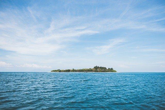 جزيرة جونسون المرجانية Johnson Island من معالم أمريكا الوطنية