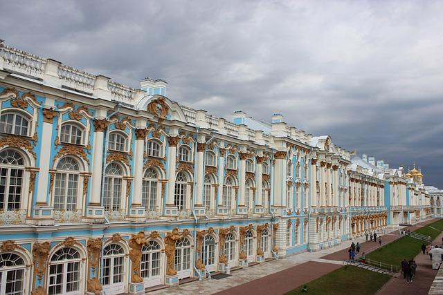 سانت بطرسبرغ ثاني أكبر مدن روسيا والعاصمة السابقة لروسيا القيصرية